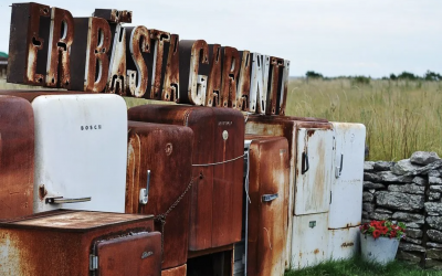 Creative Uses For Old Refrigerators